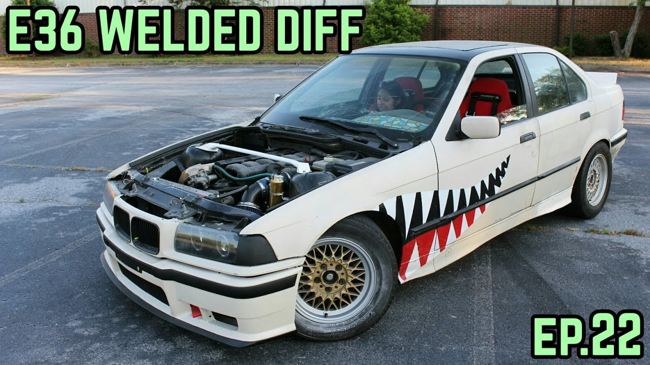 3 91 Welded Diff Upgrade Bmw E36 325i Sharkcar Drift Build Ep