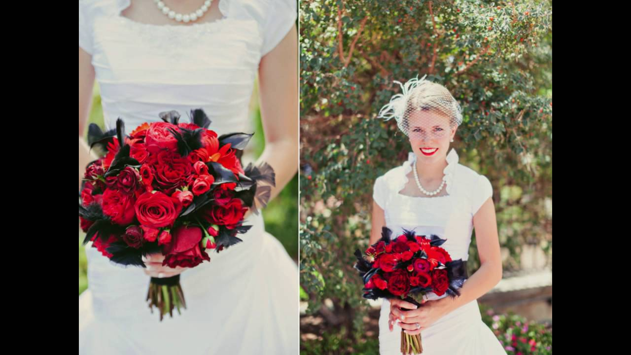 dark red dahlia and calla lily bouquets youtube