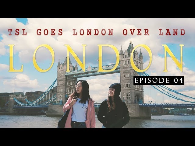 Exploring London's Cereal Cafe & Markets + GIVEAWAY! | Singapore To London OVER LAND! | EP 4