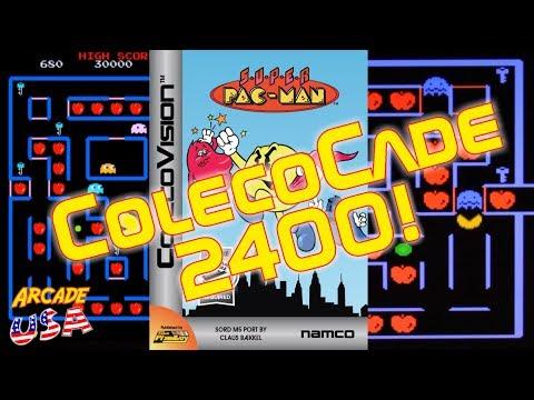 ColecoCade 2400! Super Pac Man!