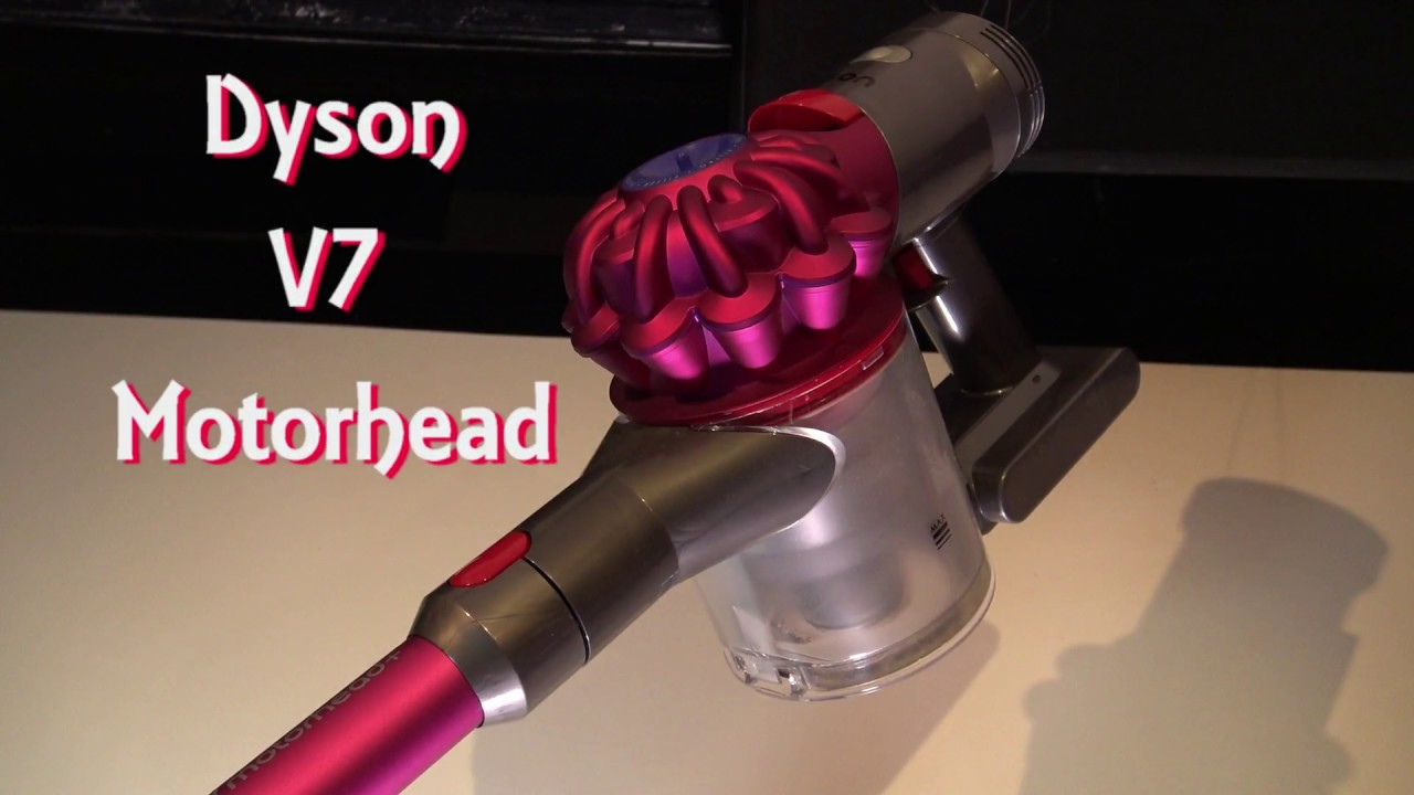 dyson v7 motorhead cordless vacuum cleaner youtube. Black Bedroom Furniture Sets. Home Design Ideas