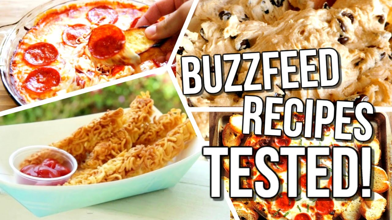 Buzzfeed food recipes tested courtney lundquist youtube - Cuisine r evolution recipes ...