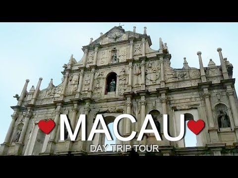 MACAU DAY TRIP TOUR | EXPLORING MACAU ♥♥♥