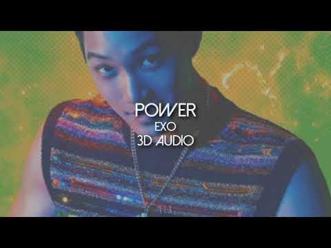 [3D AUDIO] EXO - POWER