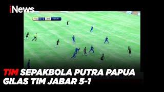 Tim Sepakbola Putra Papua Gilas Tim Jabar 5-1 #iNewsPagi 28/09