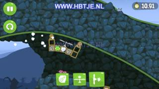 Bad piggies 3-23 Flight In The Night level 3-23 3 stars