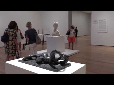 Picasso Sculpture press preview at NoMA