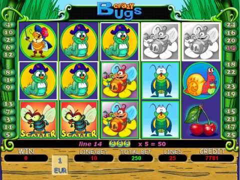 Crazy bugs slot machine casino quinalt casino
