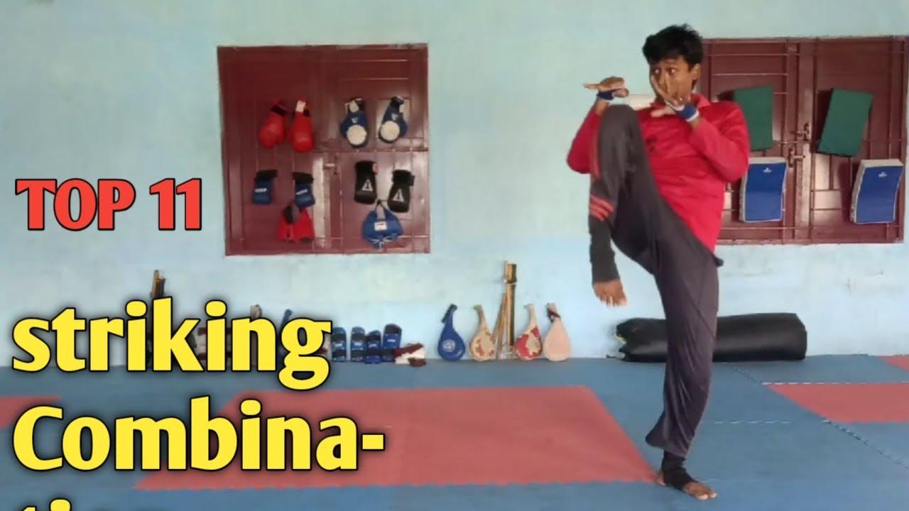 10 Striking Combination   (boxing,Taekwondo,muaythai)