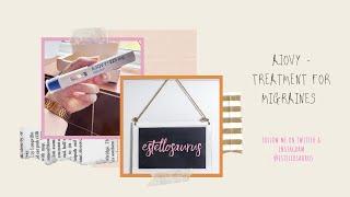 My Experience With Ajovy | Migraine Treatment | Fremanezumab | Chronic Migraine