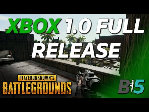 PUBG XBOX Full Release Details - New Map, Weapons, Vehicles, And Much More!!