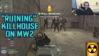 I RUINED MW2 WITH MY AIMBOT!?