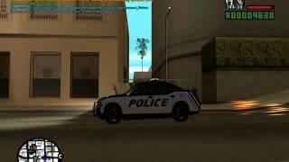 Заменка Полицейской Машины и звуков.