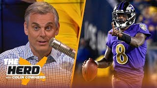Enjoy Lamar Jackson & Ravens, the bank came to collect from the Rams on MNF — Colin | NFL | THE HERD