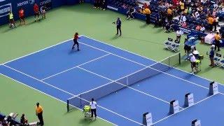 Serena Williams, Andy Murray, Victoria Azarenka, Jack Sock and Kimberly Yee at US Open Arthur Ashe K