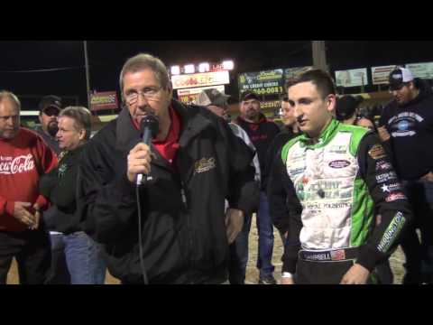 Lincoln Speedway 358 Sprint Car Victory Lane 4-16-16