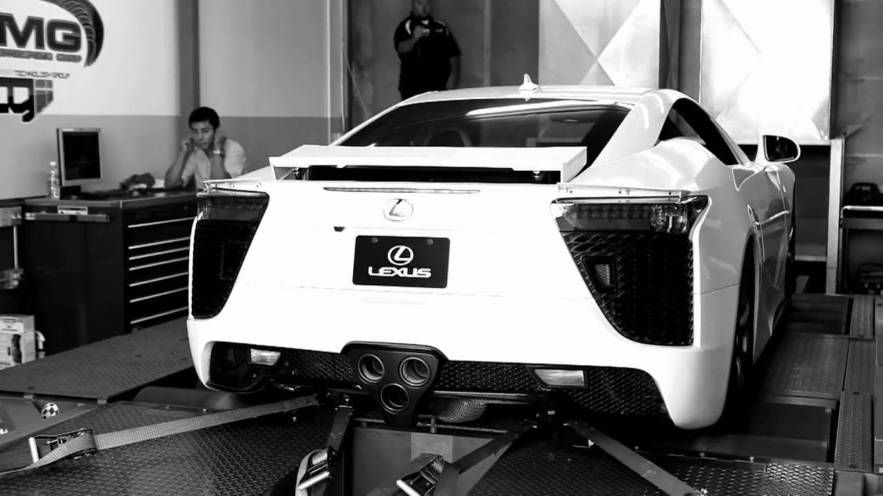 2010 Lexus LFA Breaks Champagne Glass (behind Scenes)   YouTube
