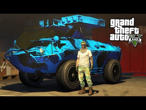 GTA 5 GUN RUNNING DLC - NEW MILITARY VEHICLES & SPECIAL APC TANK MISSION! (GTA 5 Gun Running Update)