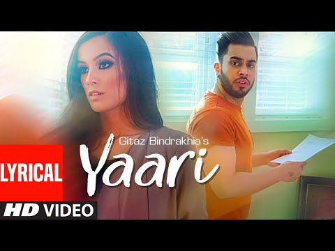 Yaari Lyrics | Gitaz Bindrakhia Mp3 Song Download