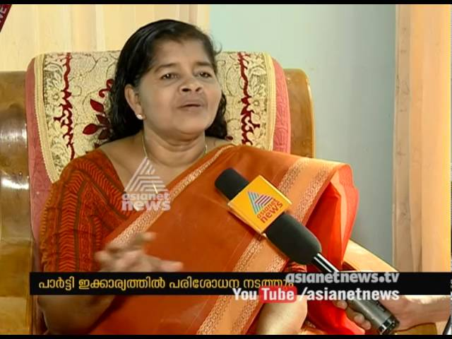 Row over appointments, J. Mercykutty Amma response to Asianet News