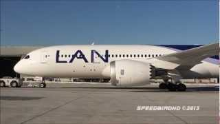 LAN Airlines Boeing 787-8 [CC-BBC] Inaugural Flight to LAX