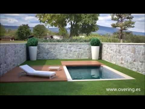 Cubierta de piscina convertible en solado youtube for Cubierta piscina transitable