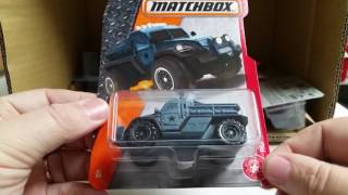 2017 E Matchbox Case Unboxing Let's See What's Inside