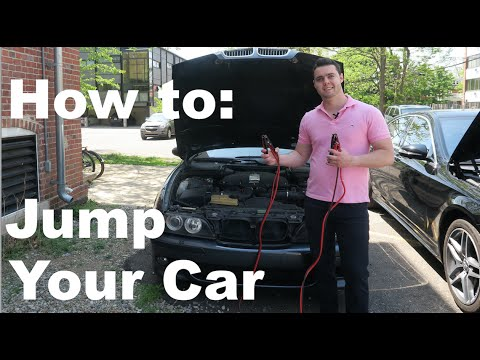 how to safely jump start a car