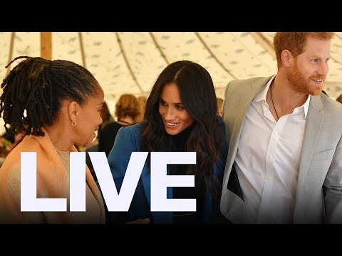 Meghan Markle's First Royal Speech With Mom And Harry   ET Canada