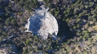 Dji Phantom 4 Termessos Antalya from air drone havadan dağ