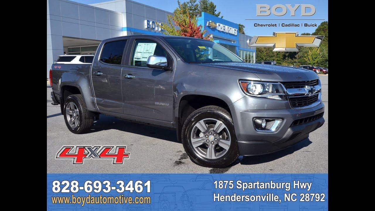 2018 Chevrolet Colorado Hendersonville Nc A8046