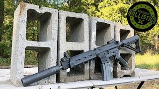Full Auto AR-15 vs Concrete Blocks (Full Auto Friday)