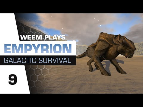 Empyrion Galactic Survival Gameplay - Planet Ningues (Snow) - Ep 9