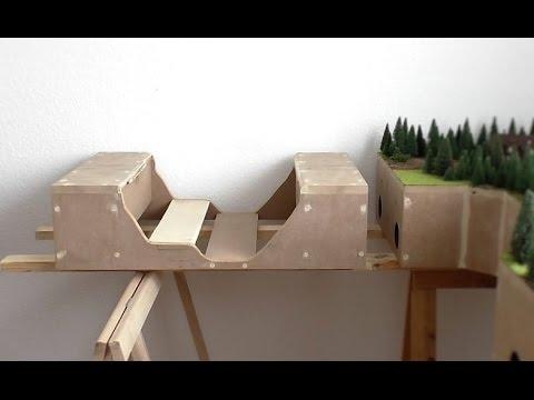 modellbahn spur   teil  modul bruecke