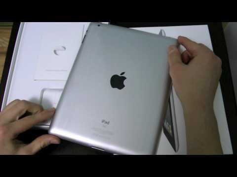 Apple iPad 2 Unboxing & First Impressions!