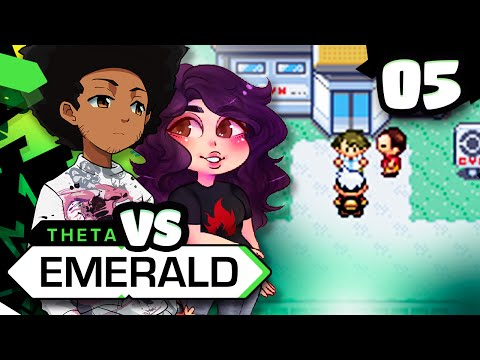 FINALLY LOSING THE RACE | Pokemon Theta Emerald Nuzlocke VS w/ NickieFlare - Episode 5