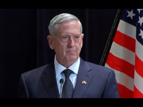 Defense Secretary James Mattis Speaks at IISS Shangri - June