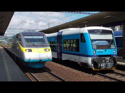 Vlaky - Zábřeh na Moravě - 14.6.2016