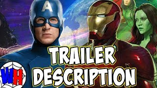 Avengers 4 TRAILER DESCRIPTION Revealed From Cineeurope!