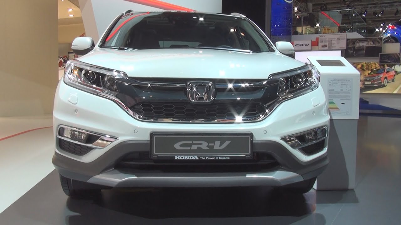 Honda Cr V 1 6 4wd Executive 9 At 2016 Exterior And Interior In You