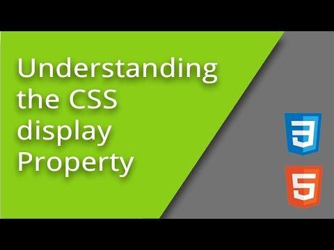 Understanding The CSS Display Property