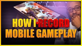 HOW TO RECORD MOBILE GAMES || iPhone and Android!