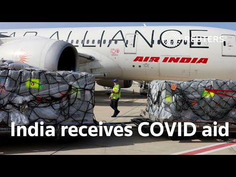 India receives coronavirus aid from U.S., UK
