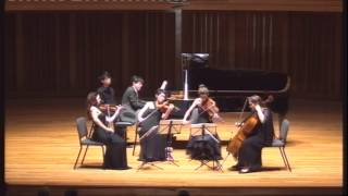 Brahms Piano Quintet in F minor II. Andante un poco adagio by Albert Tiu & Australian String Quartet
