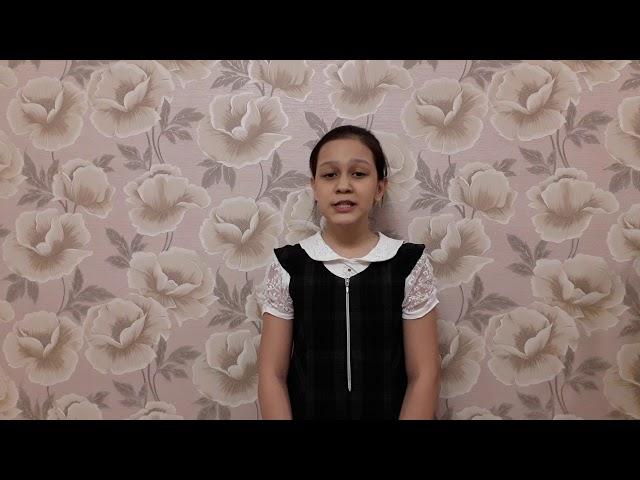 Изображение предпросмотра прочтения – АлинаРахметова читает произведение «Черёмуха» С.А.Есенина