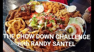 MASSIVE Chow Down Challenge with Randy Santel