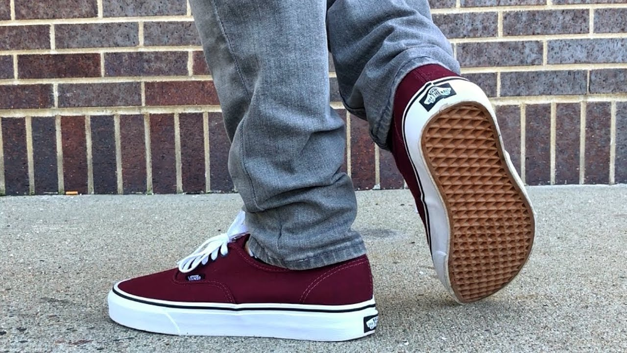"6bc2edec9e6 Vans Authentic ""Port Royale"" Review   ON FEET - YouTube"