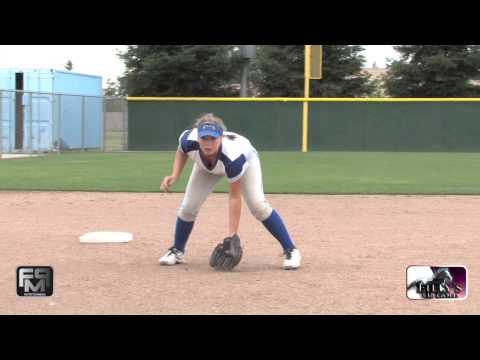 2017 Sarah Gonzalez Power Hitter, 3rd Base and 1st Base Softball Skills Video