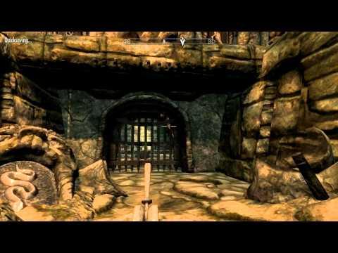 Let's Play  The Elder Scrolls 5: Skyrim - part 8 Bleak Falls Temple