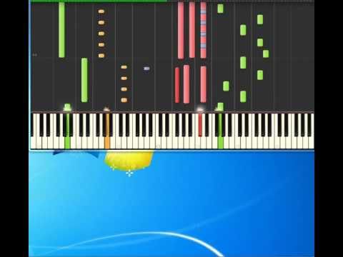 OMD   Joan Of Arc [Piano tutorial by Synthesia]
